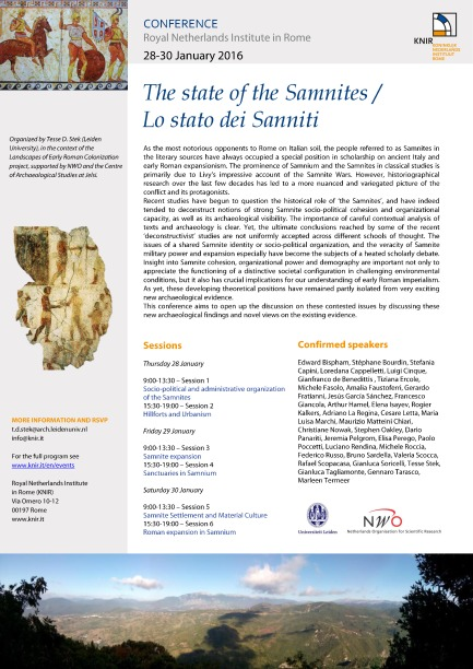 2016 conference Rome