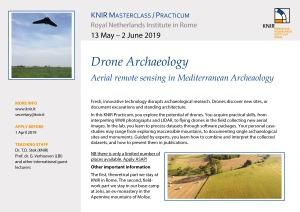 Practicum Drone Archaeology 2019